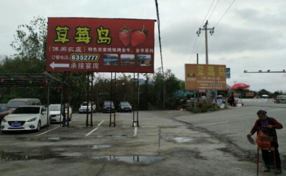 桂林大圩草莓岛休闲农庄